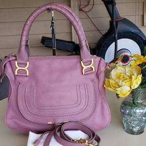 authentic chloe marcie two way bag